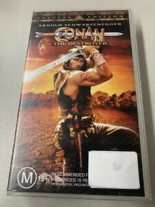 Conan The Destroyer (Special Edition) VHS Tape