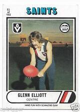 1976 Scanlens (52) Glenn ELLIOTT St. Kilda (Excellent)