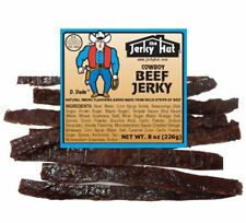 Hickory Smoked Cowboy Beef Jerky 8oz