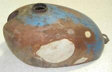 1958-1966 Matchless G2 250cc used gas petrol tank non-original blue paint