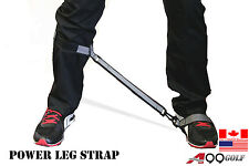 LS1 Golf Leg power Correction Strap Coil Training Aids Band HIT LONGER DRIVES