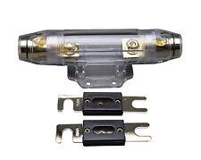 Ibp Car Anl Fuse Holder Distribution Inline 0 4 8 Ga Free 250A Fuse Skfh100