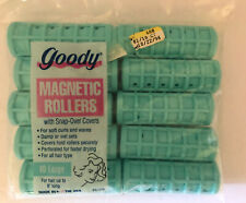 VINTAGE 1996 GOODY Snap Over Magnetic Rollers Large Pack of 10 New In Package
