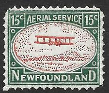 Newfoundland stamps 15c Classic Private Airmail stamps   MLH  VF