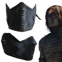 Captain America 2 Winter Soldier James Buchanan/Bucky Barnes Latex Mask Cosplay