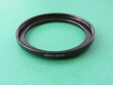 48mm-55mm Stepping Step Up Male-Female Lens Filter Ring Adapter 48mm-55mm