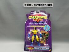 MARVEL OVERPOWER WOLVERINE (Bone Claws)Action Figure 1996 rare toy sh-17