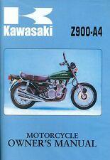 1976 KAWASAKI Z900-A4  OWNER'S MANUAL