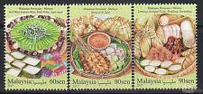 [SS] Malaysia 2017 Festival Food Series Malay STAMP SET