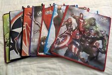 MARVEL AVENGERS SHOPPING TOTE BAGS - SET OF 7 - NEW LIMITED EDITION