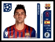 Panini Champions League 2011-2012 - David Villa FC Barcelona No. 497