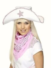 Rosa Cowgirl Bandana Cow Girl Boy Selvaggio West Western Nuovo Costume