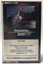 Deodato 2001 CTI Stereo Cassette Tape CTC 7081