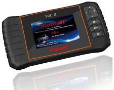 iCarsoft OBD2 OBDII Scanner Tool Code Reader ECU DTC CEL ABS SRS Volvo/Saab