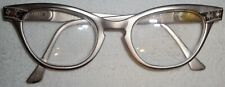 Chic Vintage Reading Glasses by Flair with Stones, 1940s to 1950s