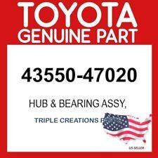TOYOTA GENUINE 4355047020 HUB & BEARING ASSY 43550-47020