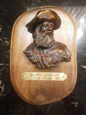 Bob Parks Original Bronze Sculpture 33/35 Warmest Regards - Cowboy Western Art