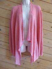 Eileen Fisher Size XL Cascading Linen Delave Rib Play Gladiola Cardigan Sweater