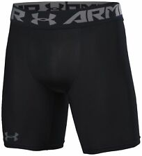 Under Armour Mens UA HeatGear Mid Compression Heatgear® 4 Way Stretch Shorts Black M