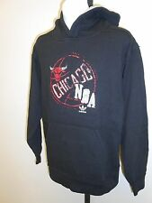 NEW-MENDED Chicago BULLS YOUTH Medium M 10-12 Adidas DISTRESSED Hoodie