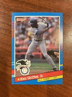 1991 Donruss Ken Griffey Jr #49 rare🔥🔥🔥🔥 error no dot after INC