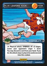 Dragon Ball Z Panini Heroes and Villains NM/M Rare R108 Blue Leaping Kick