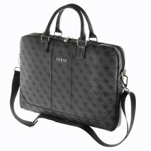 """Genuine Guess 4G Up Town Computer Bag 15"""" Black for laptop"""