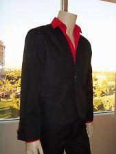 """""""Viva Las Vegas"""" BLACK Movie Jacket for ELVIS TRIBUTE ARTIST (Pre Jumpsuit Era)"""