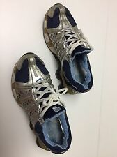 Nike Shox Navy Blue /Silver Women