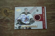 SEAN BURKE 2004 Pacific Invincible Game Jersey Signed COYOTES Autograph 108/625
