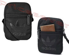 adidas Originals Trefoil  Unisex Black/Black  Festival Pouch Shoulder Bag  NEW