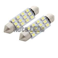 1 Blanco SMD LED 42mm Festoon Bombilla LED Interior 12v