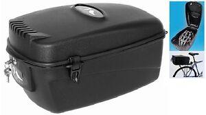 Fahrradbox Fahrradkoffer Top Case 17 Liter absperrbar inkl. 2 Schlüssel Neu