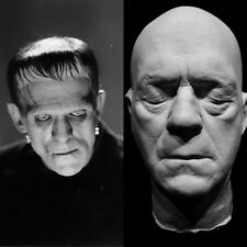 "Boris Karloff Life Mask ""Frankenstein""1931""The Mummy""1932 Voice of The Grinch!!"