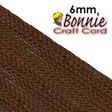 Macrame Cord - Bonnie Cords, Almond, 6mm 100 yards