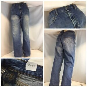Indigo Palms Jeans 36x32 Medium Wash Cotton Classic Fit Hong Kong YGI RE1502