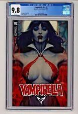 Vampirella #2 Stanley 'Artgerm' Lau Cover CGC 9.8
