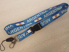 Handyband Schlüsselband - ARGENTINA - ARGENTINIEN - NEU