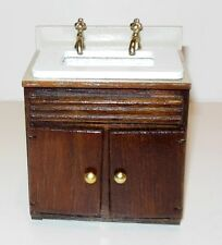 . MODERN KITCHEN SINK DOLLHOUSE FURNITURE MINIATURES