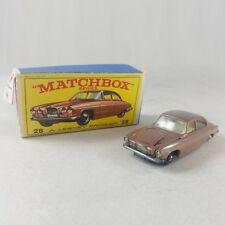 Matchbox series A Lesney Product N° 28 - Jaguar MK Mark 10 with original box