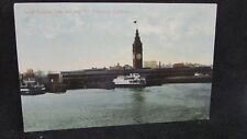 Vintage Postcard - Ferry Building - Bay - San Francisco CA - Unposted