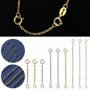 Extender Safety Chain Extender for Bracelet Necklace Jewelry Accessories DIY
