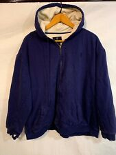 Browning Outdoor Clothing Zip-Up Hoodie Blue - Mens XXL - Jacket
