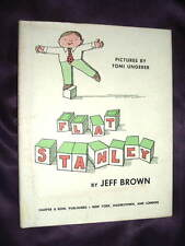 Toni Ungerer FLAT STANLEY - FIRST EDITION Jeff Brown, 1964 hc 1st, RARE, $3000+