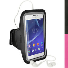 Running Jogging Sports Armband for Sony Xperia M2 D2303 Case Cover Fitness Gym
