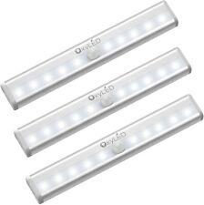 3 Pack OxyLED D03-0122N-14 Cordless Motion Sensor Closet Lights