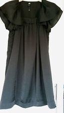 H&M Patternless Short Sleeve Dresses for Women