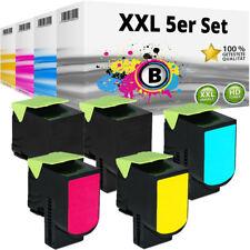 5 XXL TONER für LEXMARK CX310DN CX310N CX410DE CX410DTE CX410E CX510DTHE CX510DE