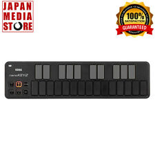 KORG USB MIDI NANOKEY2 Keyboard Controller Black 100% Genuine Product