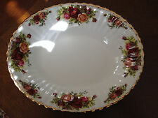 Royal Albert  Old Country Roses rimmed  Soup bowl